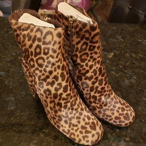 J.Crew Leopard Print Boots